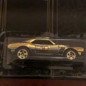 Hotwheel Black and Gold Chase Car 2018